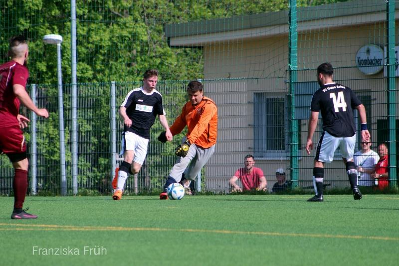 22. Spieltag Kreisliga: FC Union Erfurt - SG Fortuna Erfurt 12:1 (5:1)