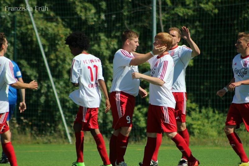 1. Spieltag: FC Union Erfurt - SV BW Gangloffsömmern 7:0 (1:0)