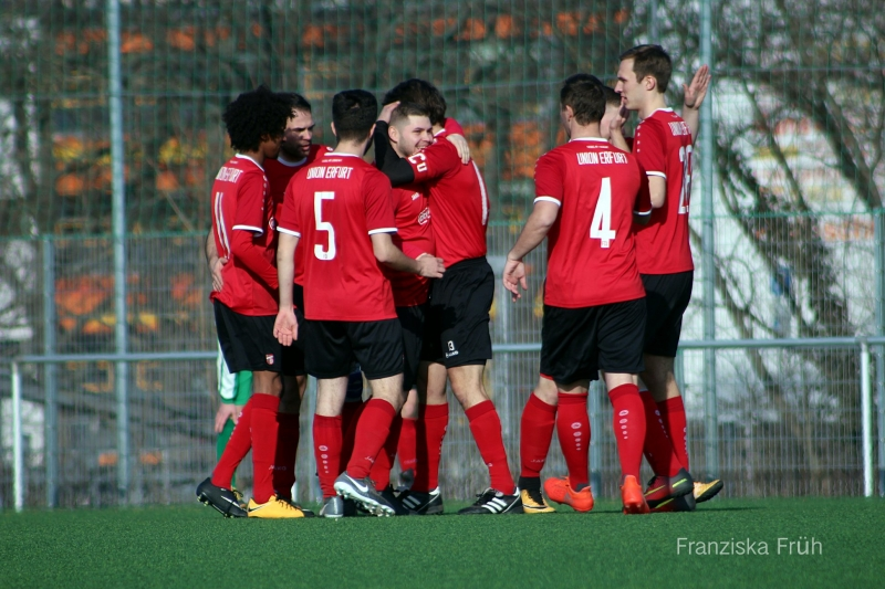 15. Spieltag Kreisliga: FC Union Erfurt - SV Ollendorf 3:1 (2:0)