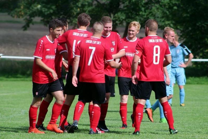 7. Spieltag Kreisliga: FC Union Erfurt - SV Riethnordhausen 4:1 (1:1)